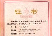 海安橡胶获中国石油和化学工业联合会科技进步一等奖