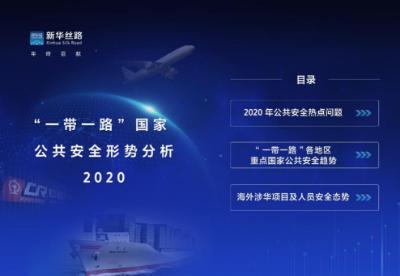 """新华丝路《""""一带一路""""国家公共安全形势分析2020》报告在京发布"""