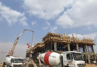 中企承建埃及房建工程项目疫情中稳步推进