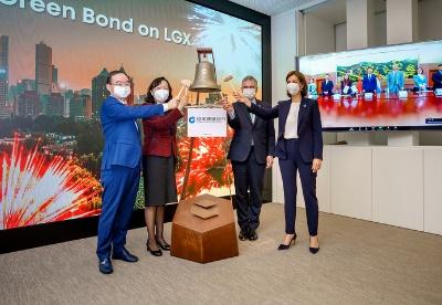中国建设银行8亿欧元绿色债券在卢森堡上市