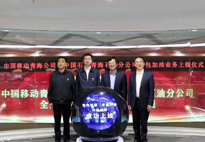 中国石化青海石油分公司全面上线移动和包加油业务
