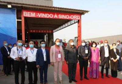 非洲安哥拉总统洛伦索参观奥德工业园区