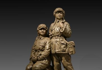 第三届吉林省雕塑作品展开幕