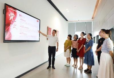 这个红色七月,贝发建起了半月谈党建融媒站!
