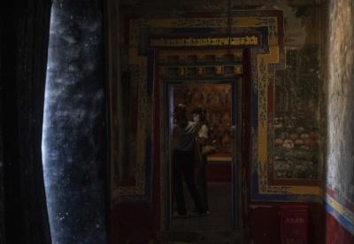 西藏首个古建筑保护性改造的艺术空间揭幕