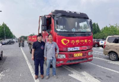 步长制药共铸中国心志愿者捐赠急救物资驰援河南