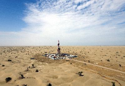 中国石化在塔里木盆地发现亿吨级油气区