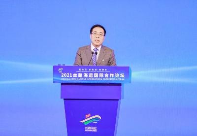 """中国航海学会常务副理事长张宝晨:""""丝路海运""""品牌知名度和影响力持续提升"""