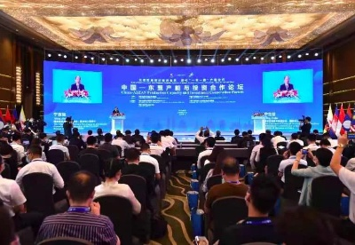 """共建""""一带一路"""" 共促经济复苏 中国-东盟产能与投资合作论坛在南宁举行"""