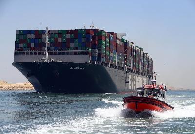 埃及苏伊士运河今年前八月收入达40.9亿美元